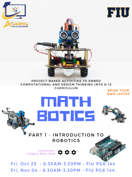 Math Botics - Introduction to Robotics